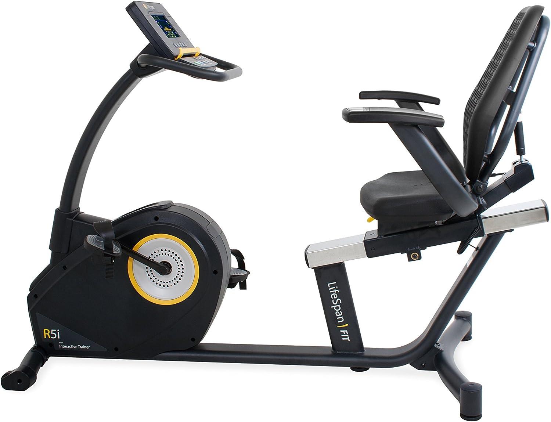 LIFESPAN R5i RECUMBENT BIKE- BEST EXERCISE BIKES WITH 400lbs WEIGHT CAPACITY