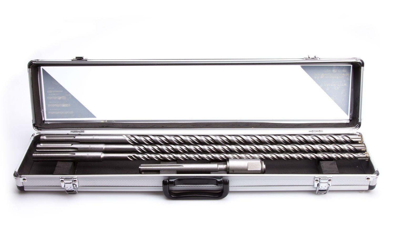 Hammerbohrer Bohrersatz 600mm SDS-MAX Betonbohrer Set Adapter auf SDS W-BET3-A