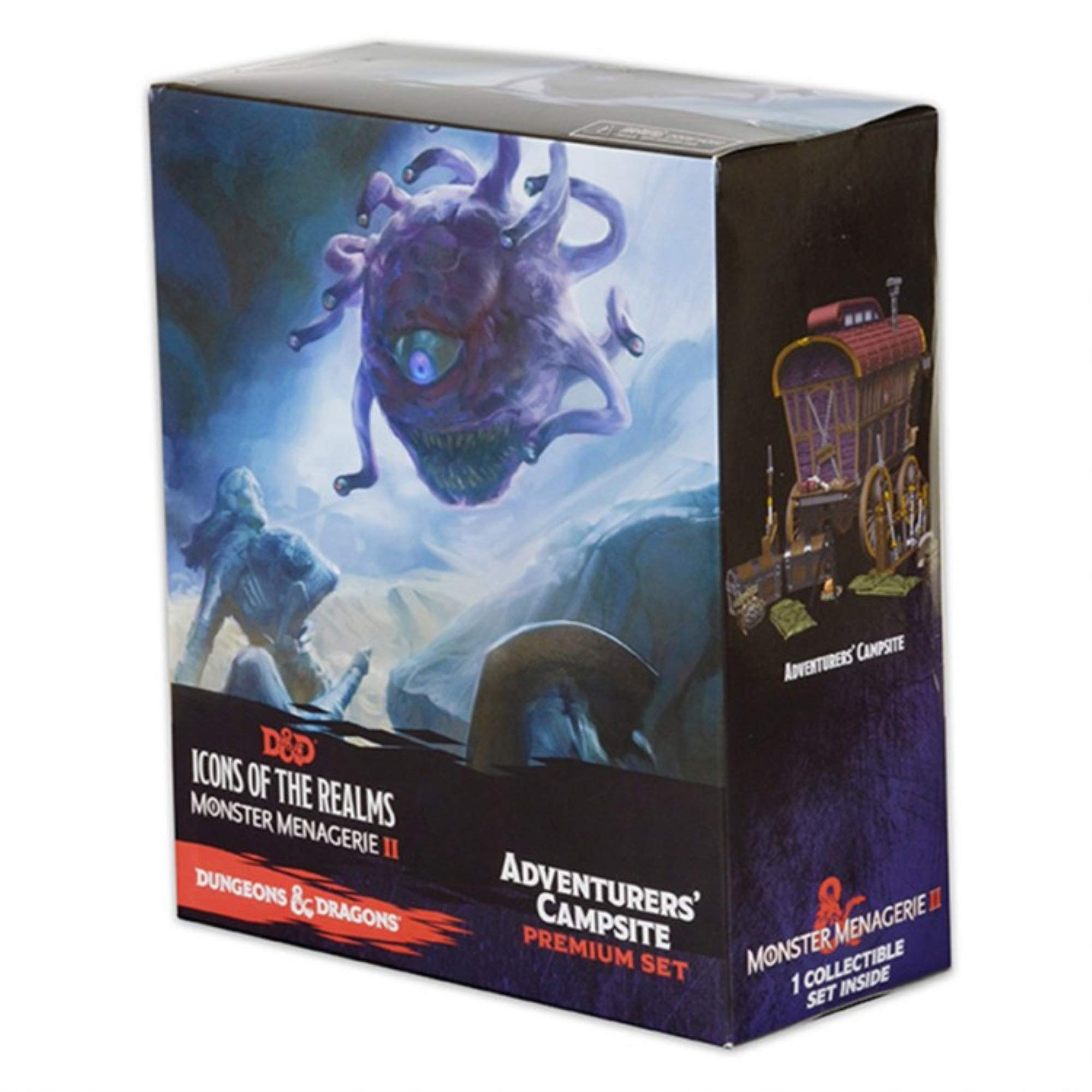 WizKids NECA D&D Icons of The Realms: Monster Menagerie 2 Adventurer's Campsite D&D 2, Dungeons and Dragons