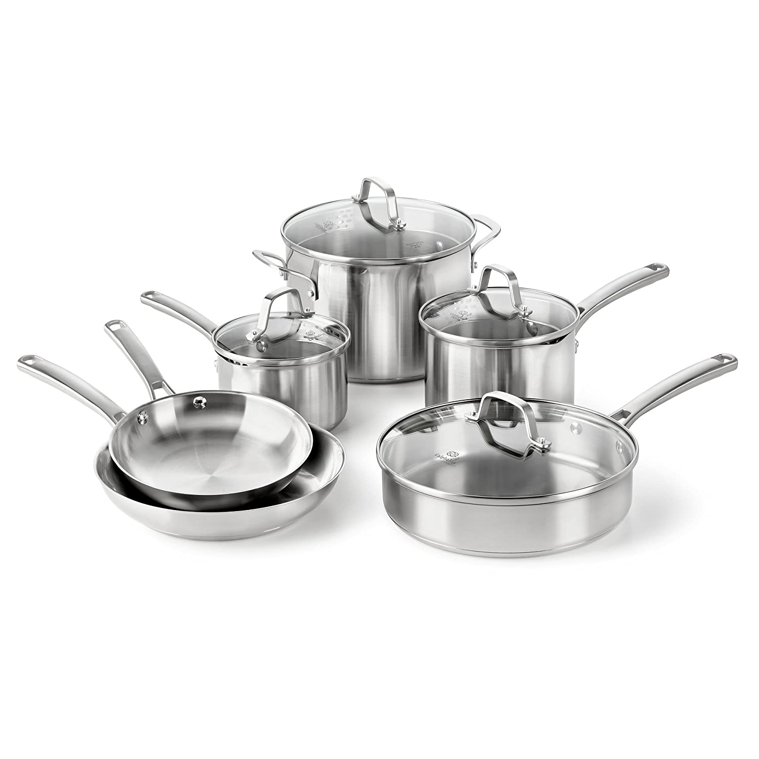 Calphalon Classic Stainless Steel Cookware Set, 10-Piece Review