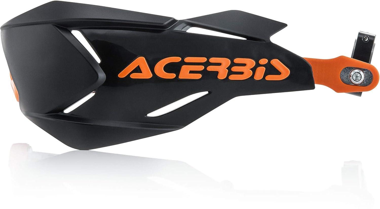 Acerbis Moto color negro y naranja Protector de manos talla /única