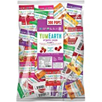 YumEarth 1-Pack of 300-Count Organic Vitamin C Lollipop (5 Pound Bag)