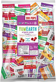 300-Count YumEarth Organic Vitamin C Lollipops