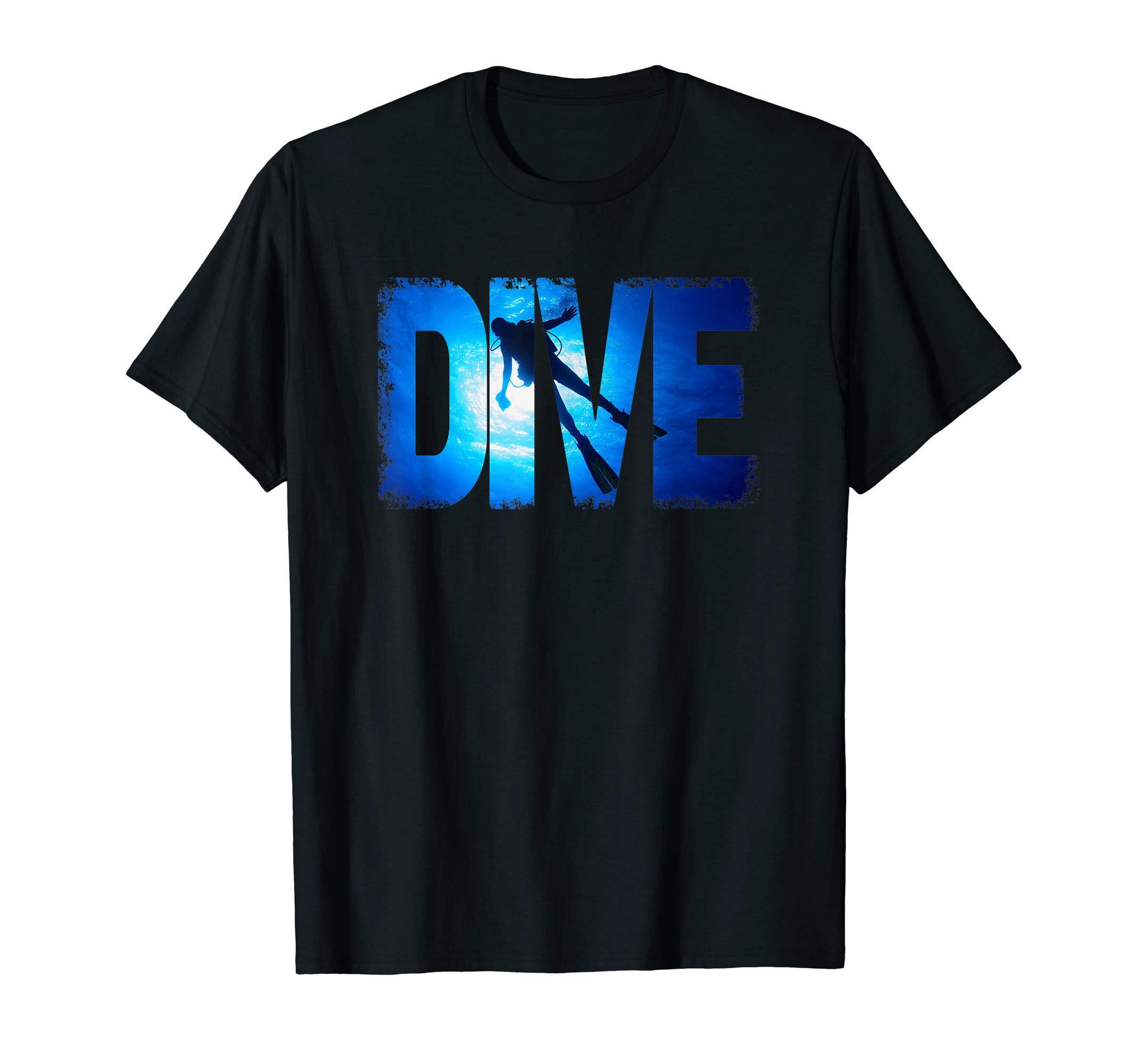 Scuba Diving Gear Shirt Scuba Diving Equipment t shirt by Scuba Diving Gear Deep Dive Tee