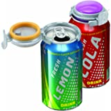 Jokari Fizz-Keeper Can Pump and Pour, Assorted Colors, 1-Pack