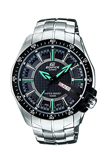 5beb25909c8 Buy Casio Edifice Analog Black Dial Men s Watch - EF-130D-1A2VDF (ED417)  Online at Low Prices in India - Amazon.in