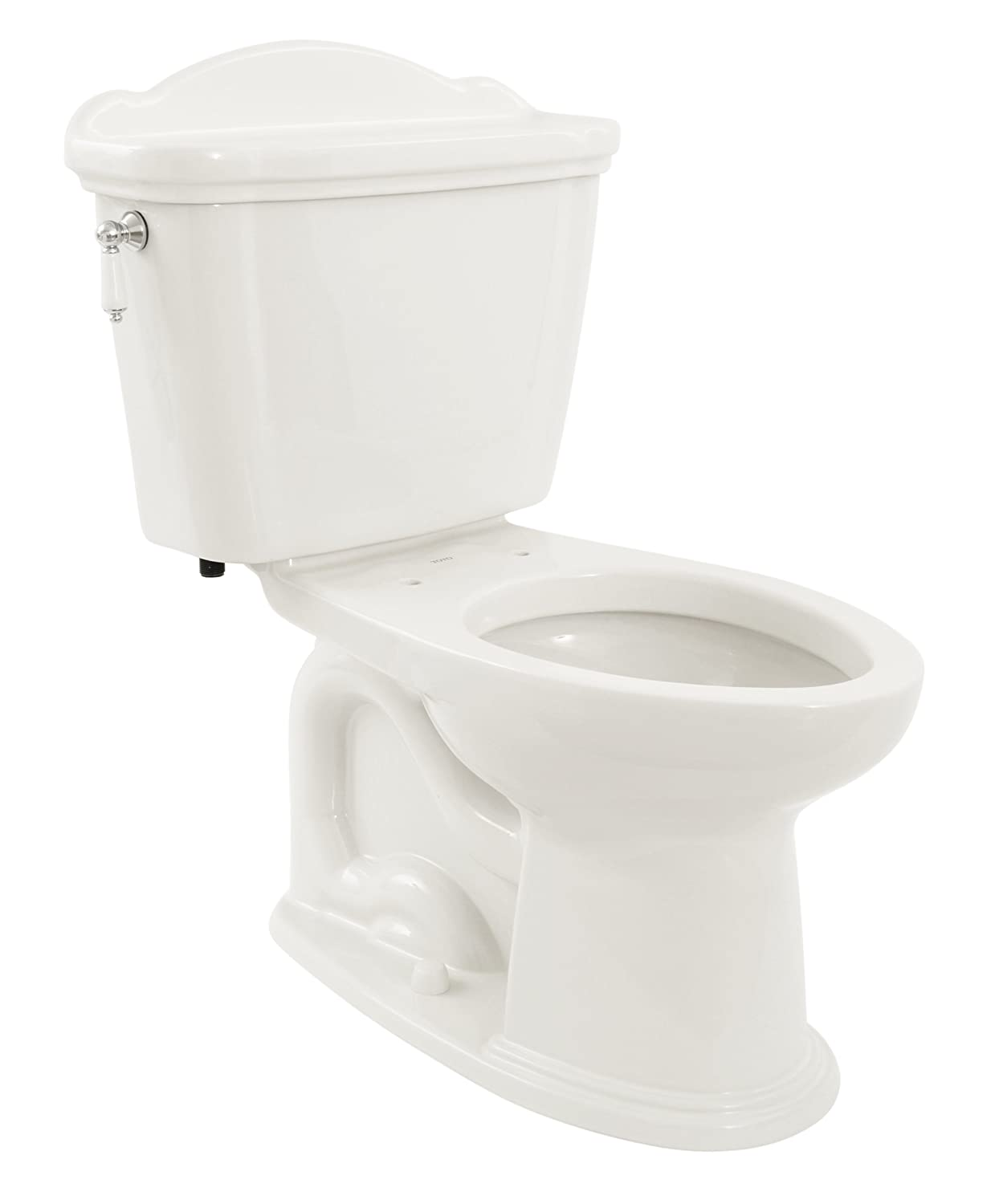 TOTO CST754SFN#01 Whitney 2-Piece Toilet with Elongated Bowl, Cotton ...