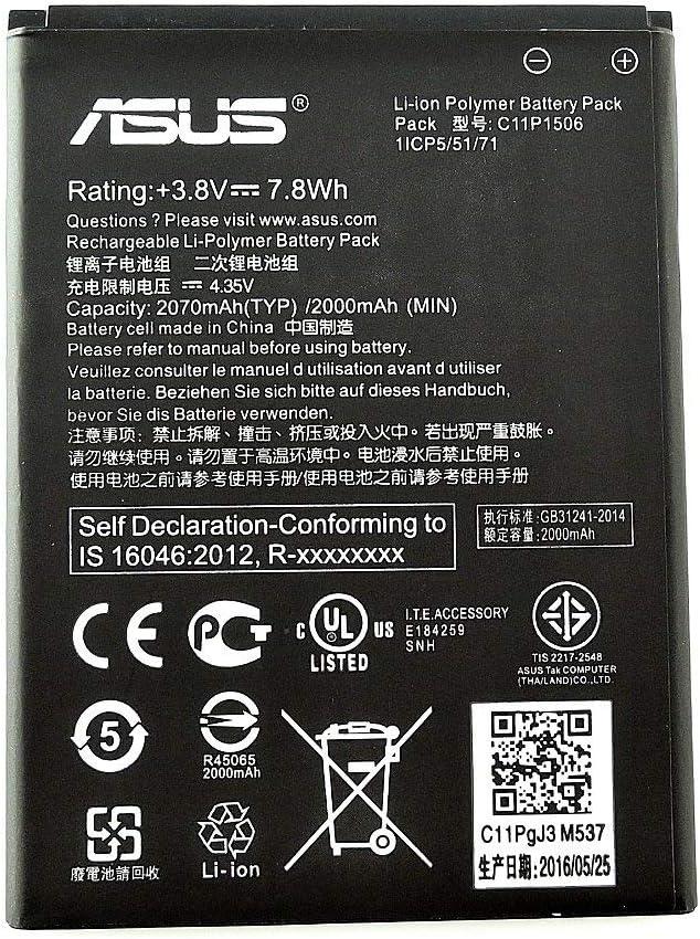Asus - Bateria Original Asus c11p1506 para Asus Zenfone Go ZC500TG ...