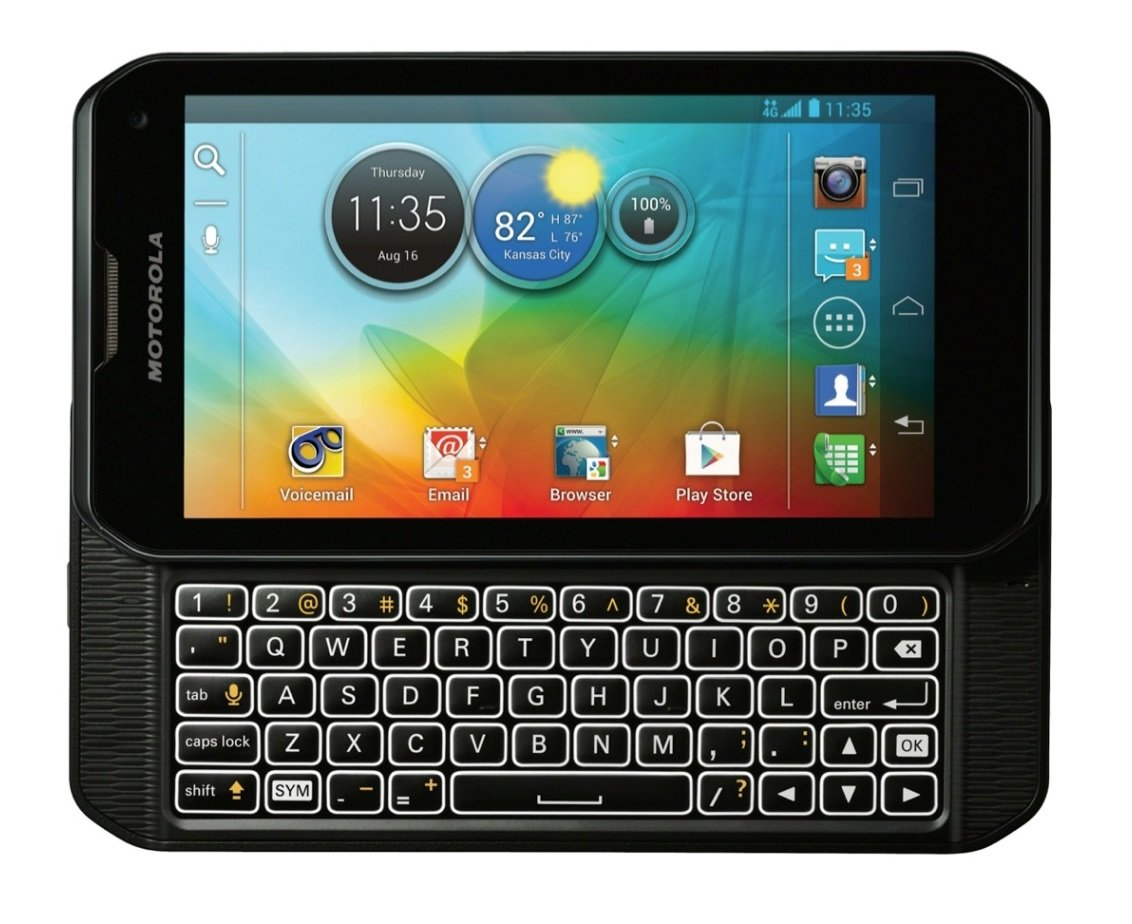 Phone Android Phones With Physical Qwerty Keypad amazon com motorola photon q xt897 sprint cdma 4g lte android smartphone black cell phones accessories