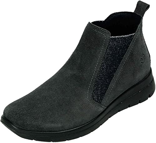 Fly Flot Women's Boots Grey Charcoal