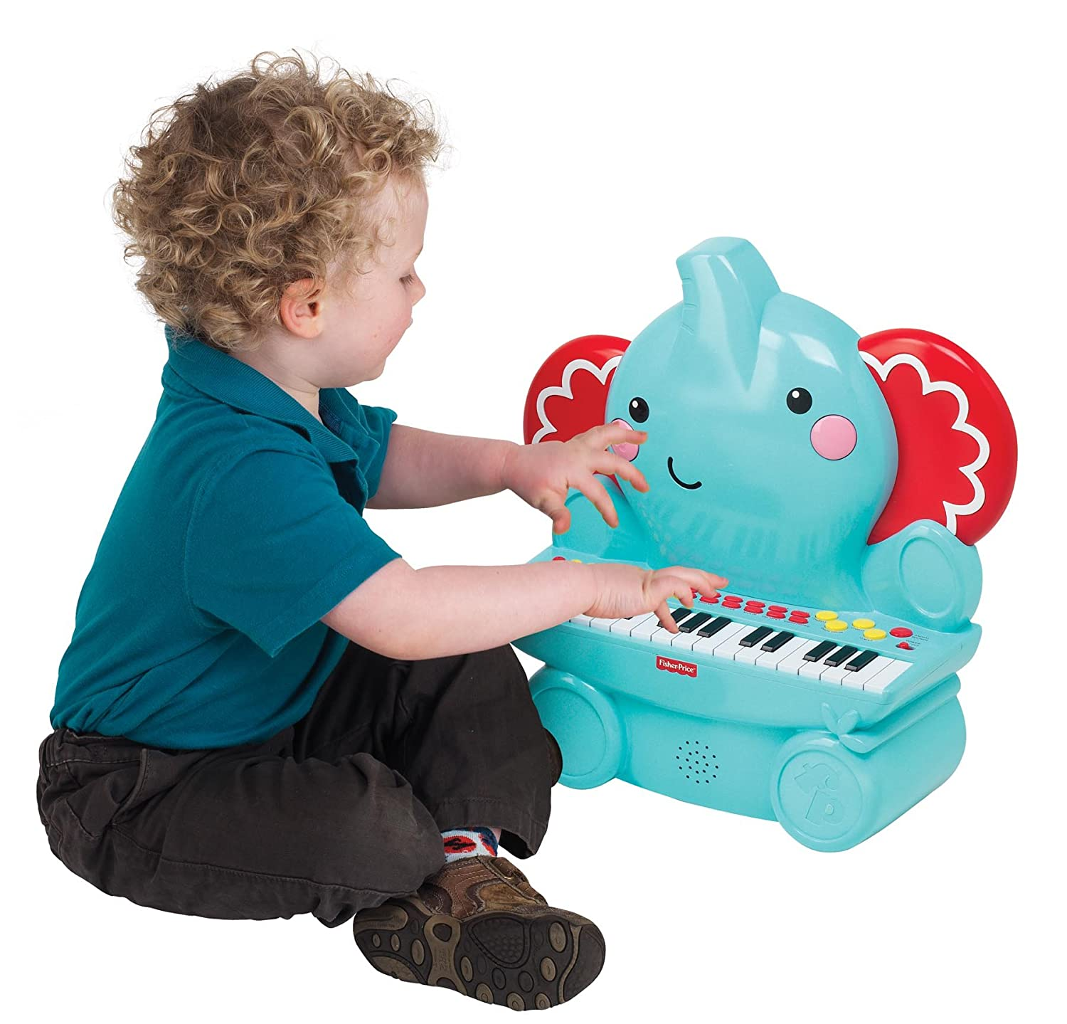 Amazon Fisher Price Music Keyboard Piano Elephant Great