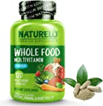 NATURELO Whole Food Multivitamin for Men - with Vitamins, Minerals, Organic
