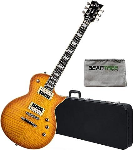 ESP LTD LEC1000TFMHBSF EC 1000 - Guitarra eléctrica (satén, color ...