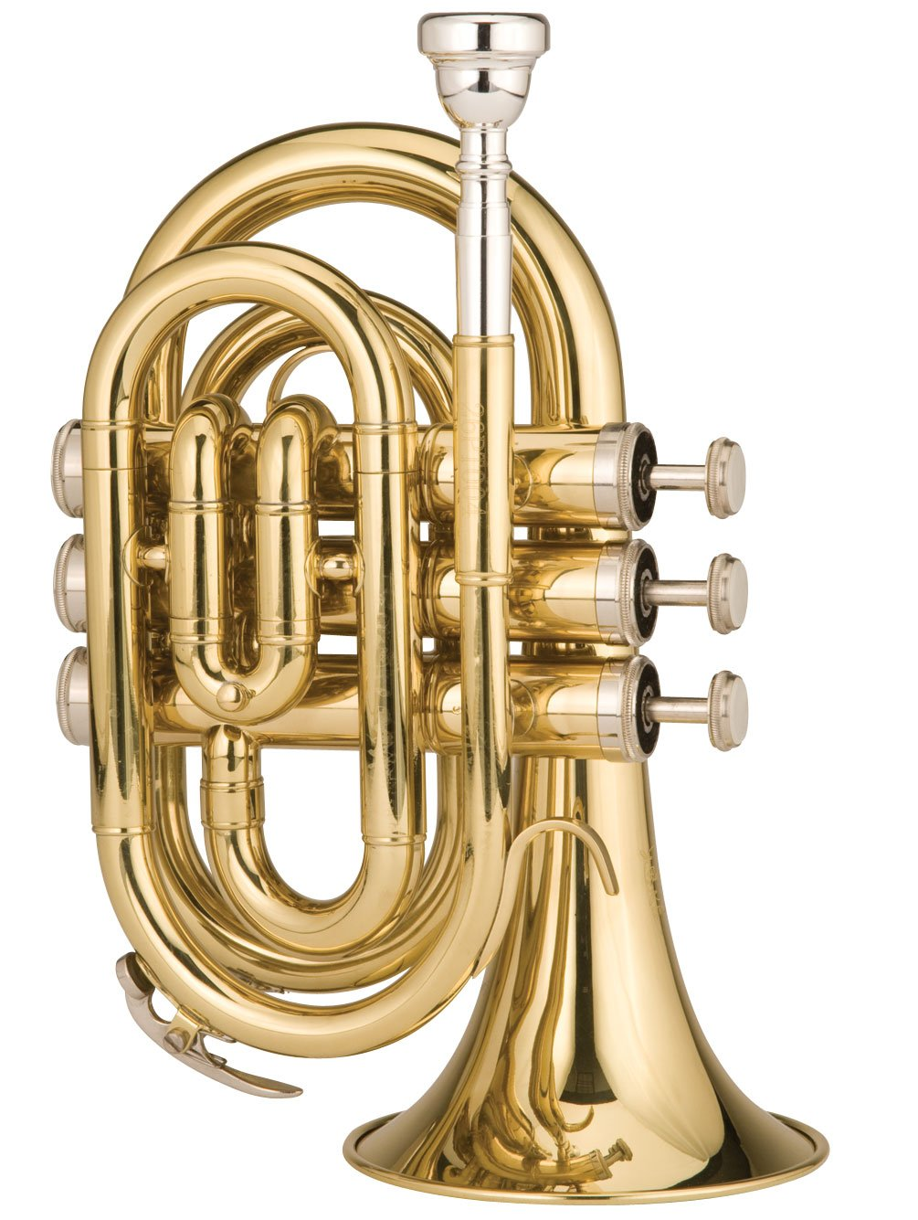 Ravel RPKT1 Pocket Trumpet Brass
