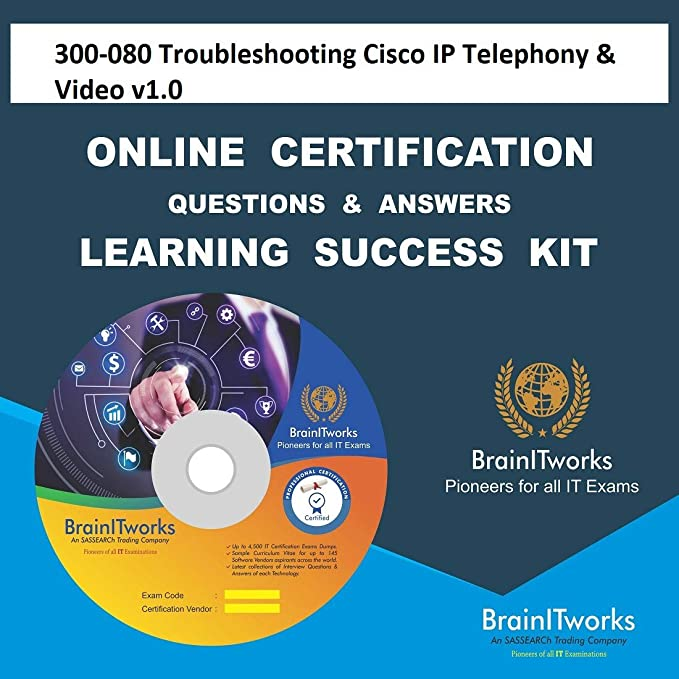 Amazon in: Buy 300-080 Troubleshooting Cisco IP Telephony