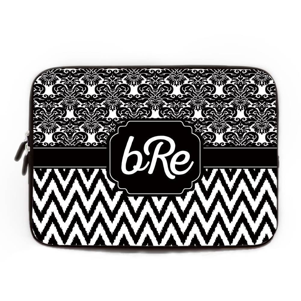be5d6a785afa Amazon.com: Black and White Computer Case for Laptop 15-15.4 inch ...