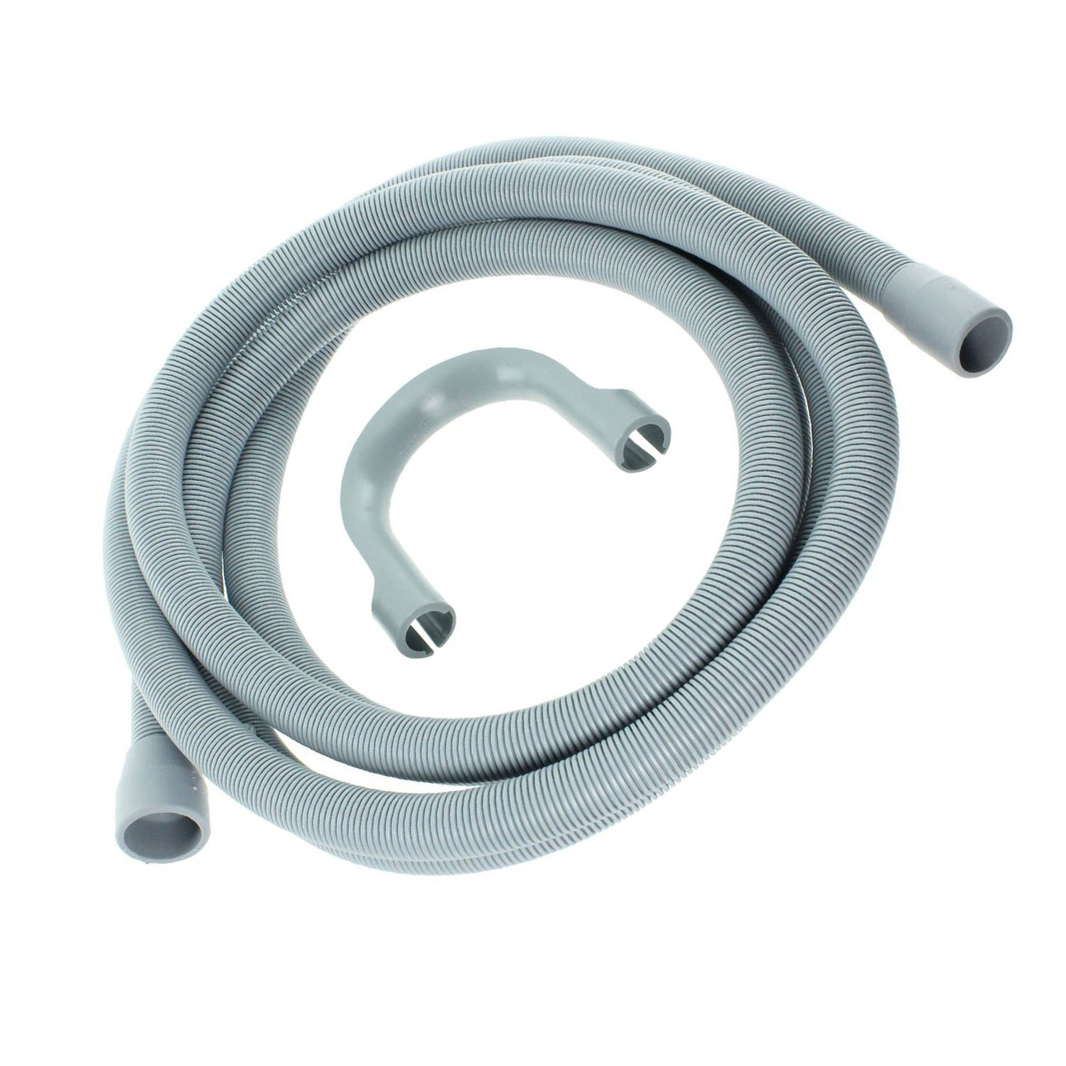 SPARES2GO Drain Hose Extension for Lamona Dishwasher 2.5M, 18mm // 22mm