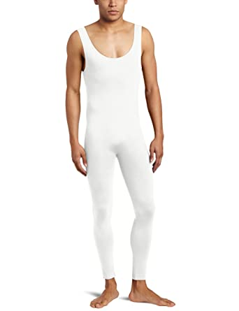 414b554ea6 Amazon.com: Sansha Men's Shelton Tank Top Unitard, White, Large/5 ...