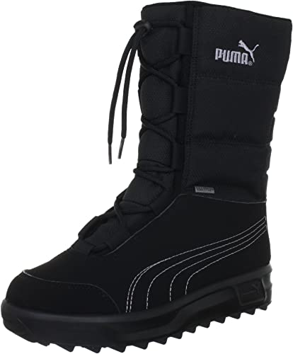 agujas del reloj a pesar de candidato  Puma Unisex - Child Borrasca III GTX® Jr Snow Boots Black Schwarz  (black-gray dawn 01) Size: 6.5: Amazon.co.uk: Shoes & Bags