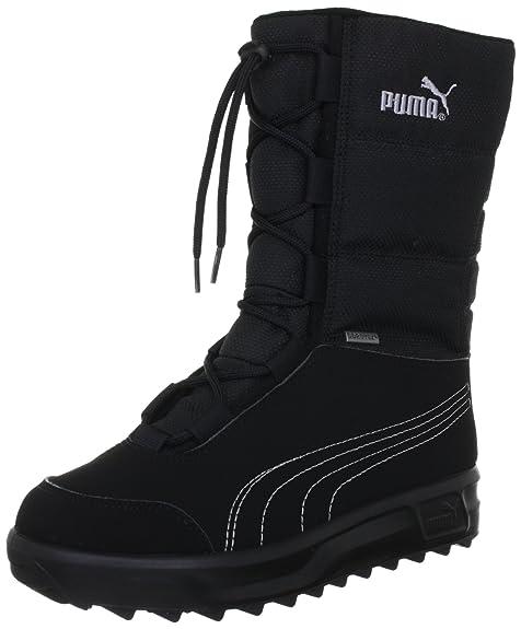 e11ca1d0bd Puma Borrasca III GTX Jr, Stivali da Neve Unisex-Bambini, Nero (Black