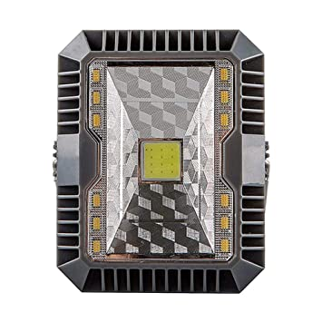 Proyector LED Exterior Solar impermeable IP65, proyector obras LED ...