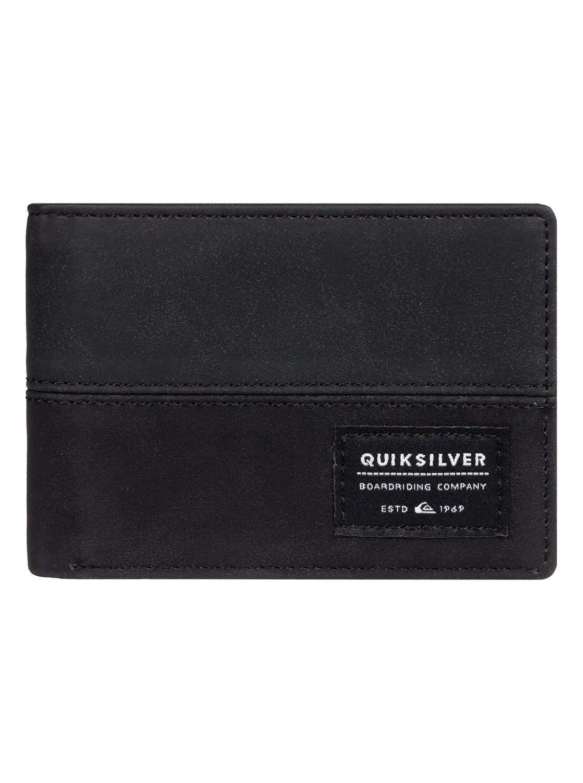 Quiksilver - Cartera de Doble Hoja - Hombre - M - Negro: Quiksilver: Amazon.es: Ropa y accesorios