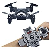 Joso Mini Drone Kids, Headless Model Remote Control 3D Flips & Rolls 4CH 6Axis Gyro Quadcopter for Aerial Photography Altitude Hold & Auto Return Kids Toys Christmas Children Gift (Included Camera)