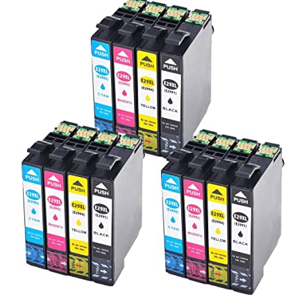 Karl Aiken 12 x Epson 29 XL Cartuchos de tinta de alta ...
