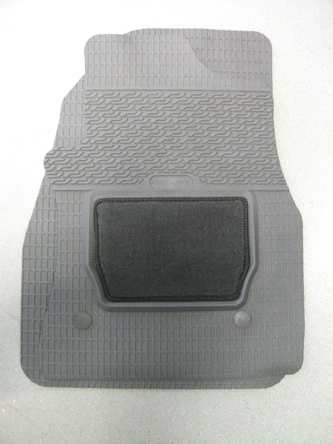Fiat Doblo Estate 2010 On Black Tailored Floor Car Mats Carpet //Rubber