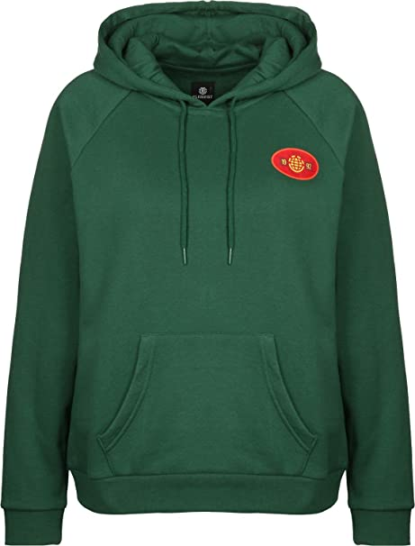 Element Yawye W Sudadera con capucha hunter green: Amazon.es: Ropa y accesorios