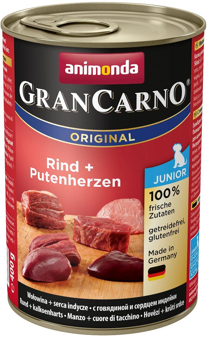 Animonda Gran Carno Hundefutter Junior, 6er Pack