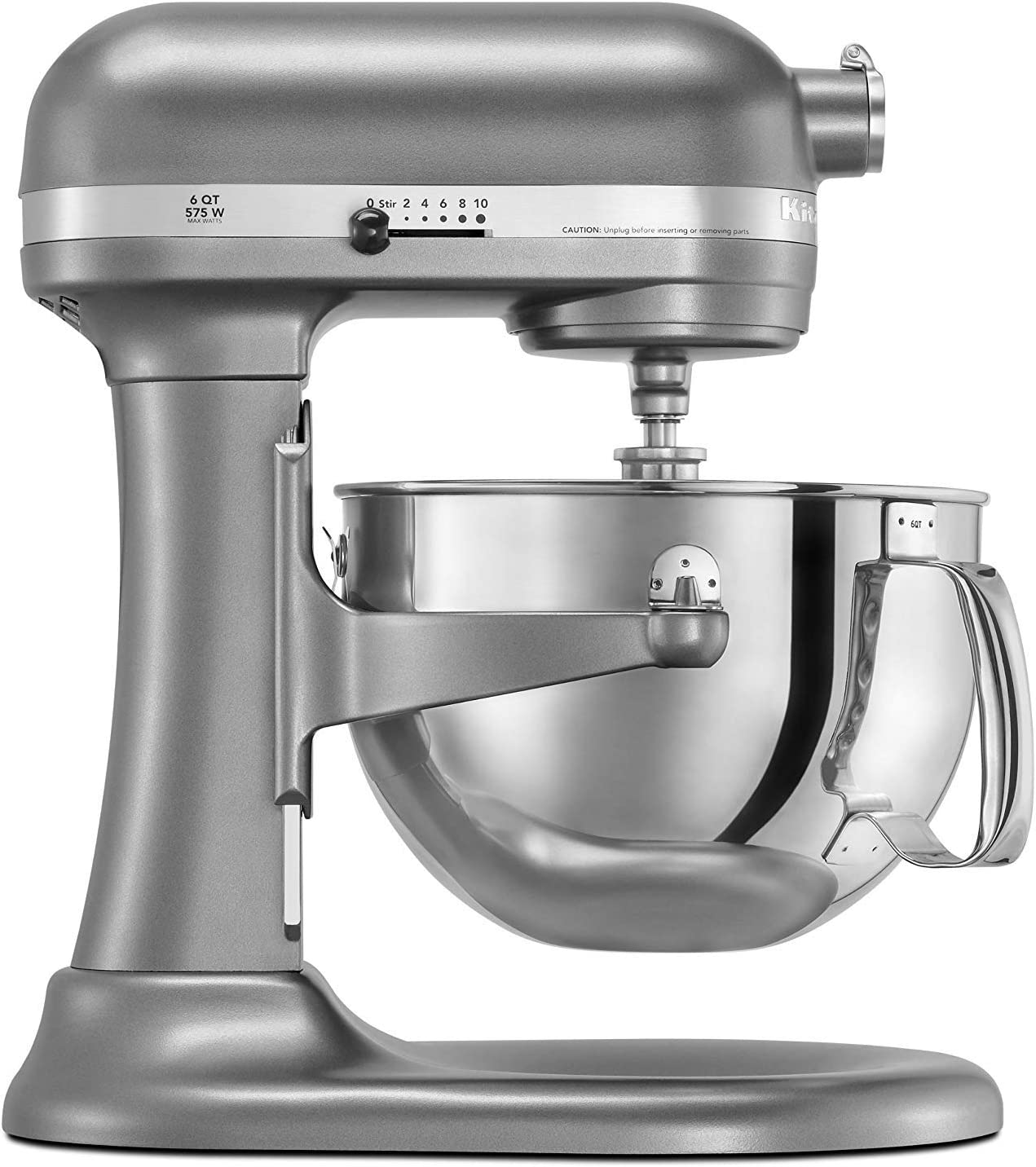 KitchenAid Factory Professional 600 6-Qt. Bowl-Lift Stand Mixer – Cocoa Silver Renewed
