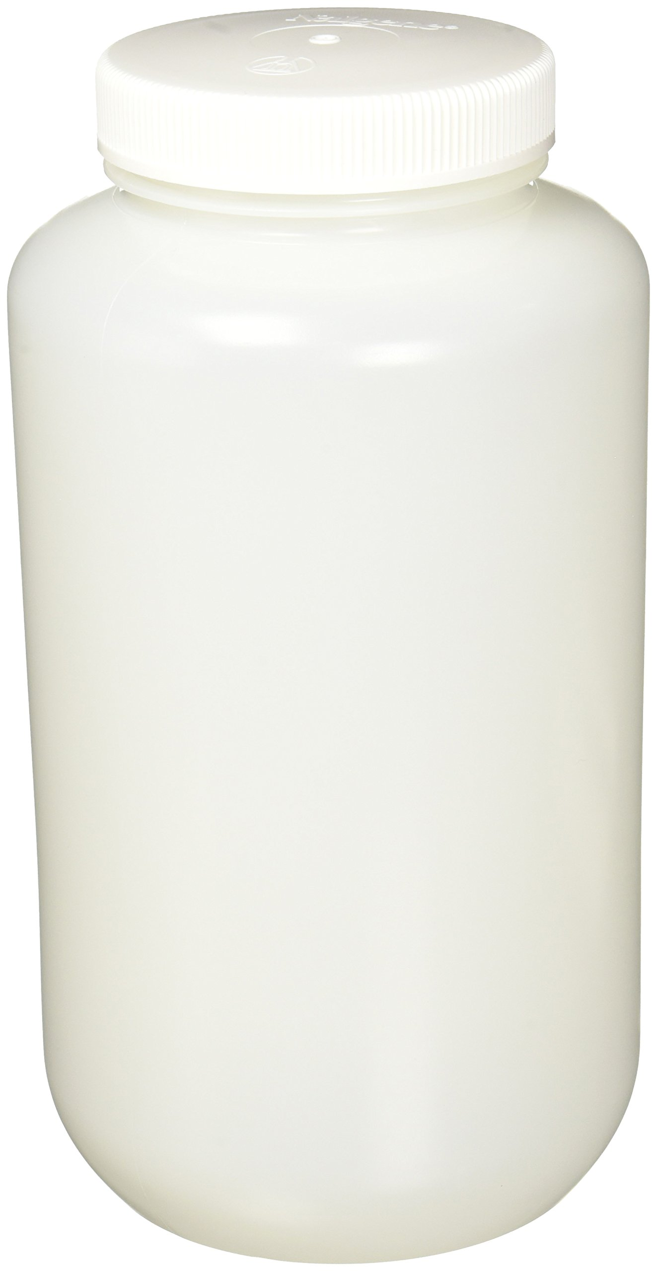 Nalgene HDPE Wide Mouth Round Container, 128 Oz