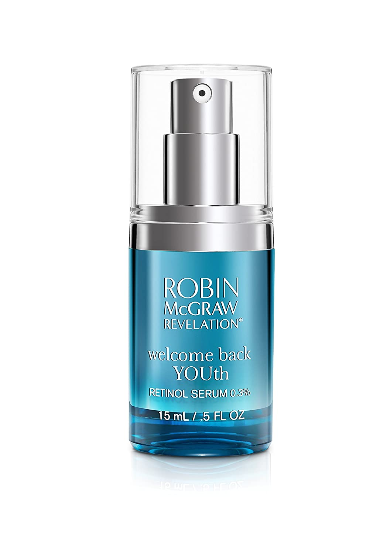 Robin McGraw Revelation Welcome Back YOUth – Retinol Serum 0.3%, 0.5 fl. oz