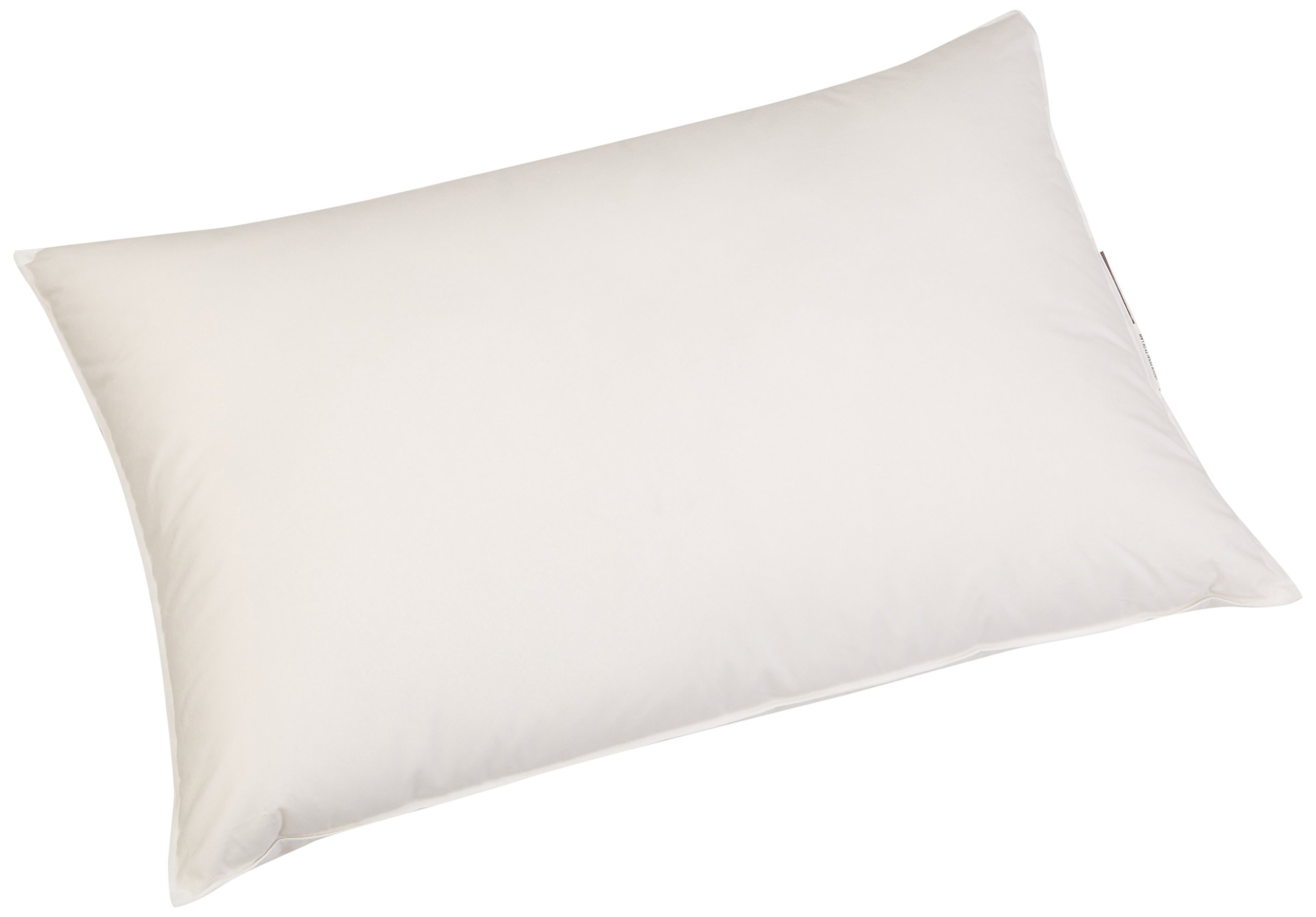 Coyuchi Feather/Down Pillow Insert, Queen, White by Coyuchi