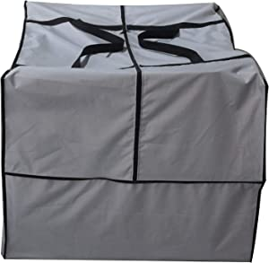 acoveritt Outdoor Square Cushion/Cover Storage Bag, Protective Zippered Storage Bags with Handles, 32''L x 32''W x 24''H