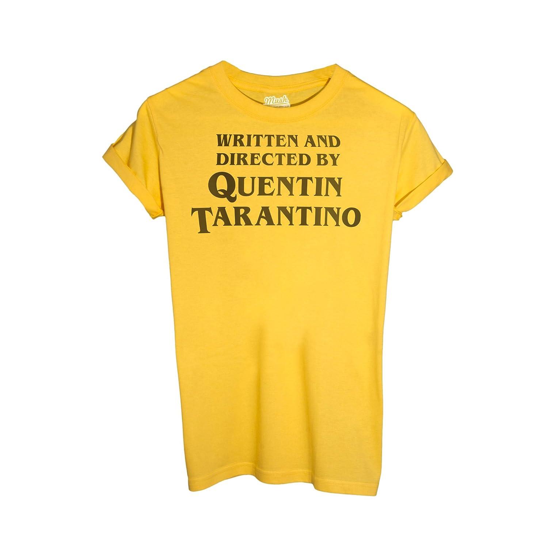Film by Dress Your Style MUSH T-Shirt Titolo di Coda REGIA Quentin Tarantino