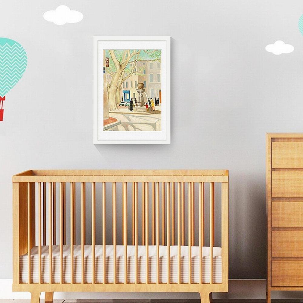entrega de rayos GCCI Sala de Estar Pinturas Decorativas Simple Pinturas Enmarcadas Enmarcadas Enmarcadas Mural Pinturas Inicio Pinturas,Blanco,40  60cm  tiempo libre