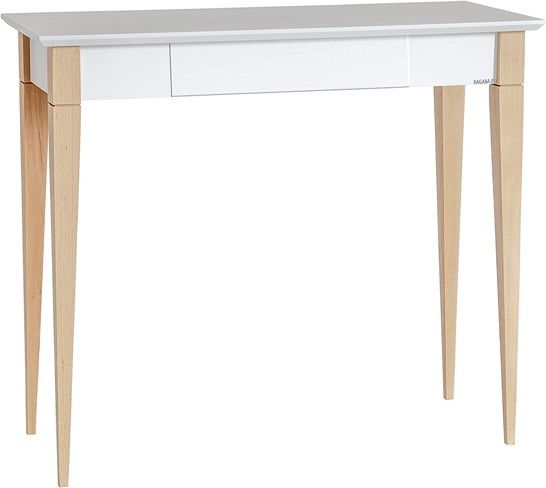 Ragaba MIMO - Escritorio Mediano (85 x 40 x 75 cm), Color Blanco ...