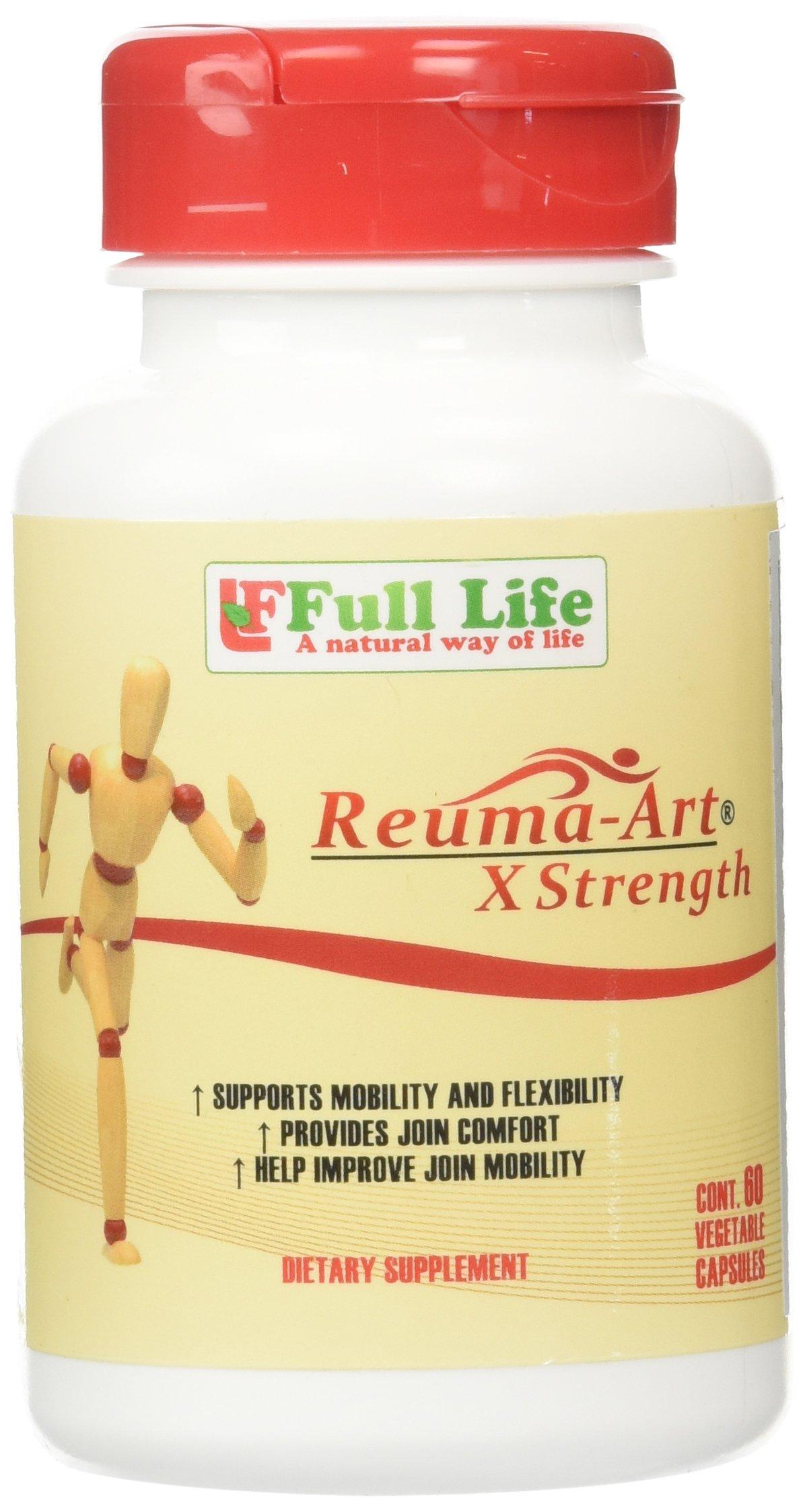 Full Life Reuma-Art X-Strength, 60 caps