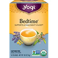 Yogi Tea Organic Bedtime - Herbal Supplement, 16 Count per Box (Pack of 6), Bedtime Herbal Tea, 96 Count