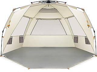 Easthills Outdoors - Montage Rapide, Tente spacieuse de Plage Qui s'abrite du Soleil pour 4 Personnes- Porche à l'entrée avec Fermeture éclair Easthills Inc.