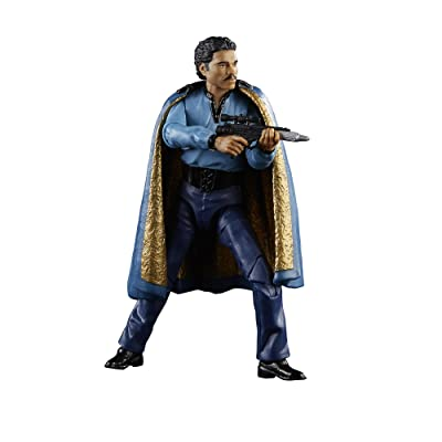 Star Wars: Episode V The Black Series Lando Calrissian, 6-inch: Toys & Games