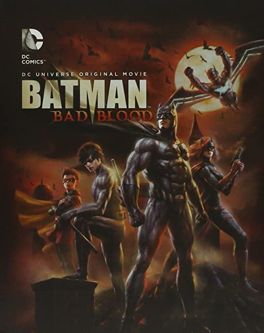 Amazon.com: BATMAN Bad Blood - Steelbook (Blu-ray + DVD + ...
