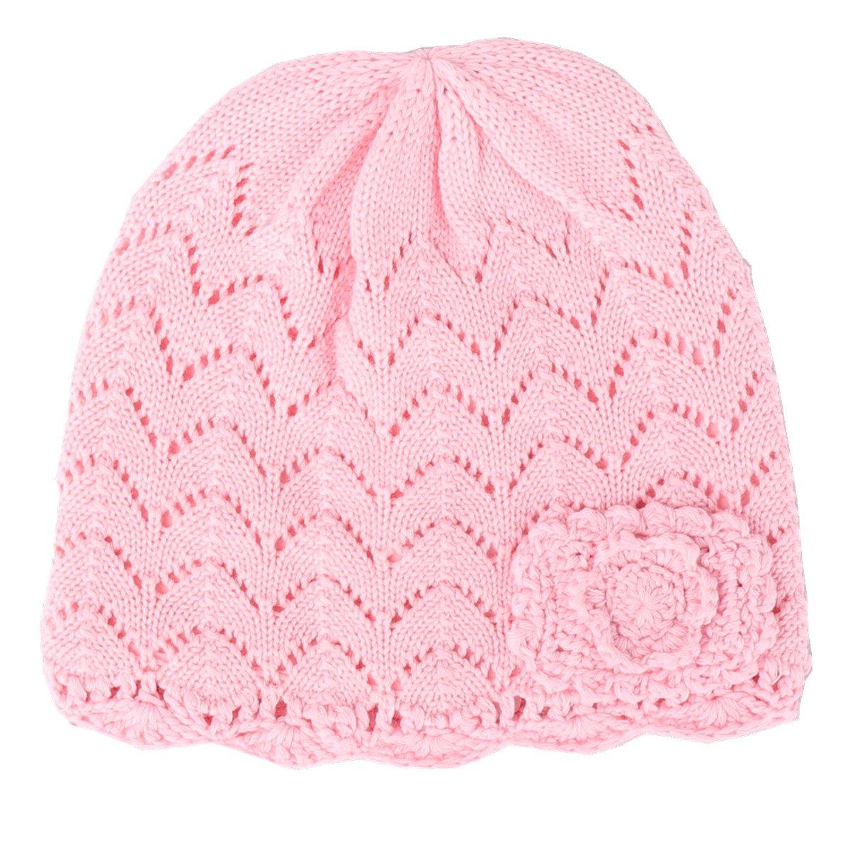 Tyidalin BéBé Fille Chapeau Naissance Bonnet Tricot en Coton Chaud pour  Automne Hiver Rose  Amazon.fr  Vêtements et accessoires 3988284d91f