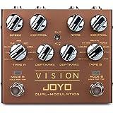【国内正規品】JOYO ジョーヨー エフェクター VISION R-09 DUAL-MODULATION ステレオ デュアルモジュレーションペダル