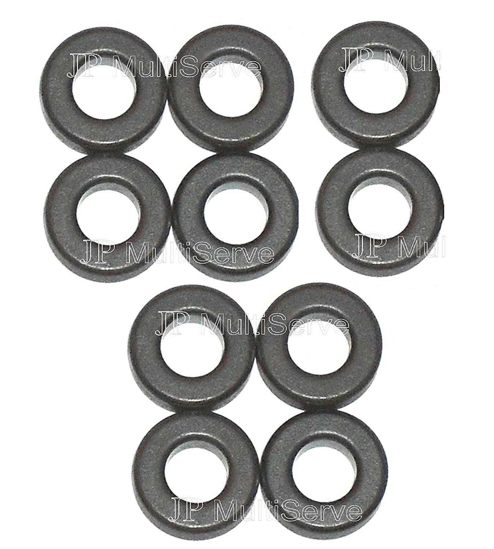 Ferrite Toroidal Cores Lot of 4 ID: 0.187 x OD: 0.375 x HT: 0.125 Type 43