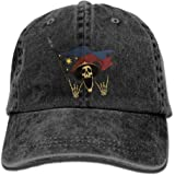 Member Trend Printing Cowboy Hat Fashion Baseball Cap For Men and Women Black