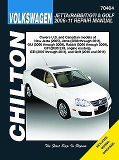 vw jetta rabbit gi golf automotive repair manual 2006 2011 rh amazon com 2007 Jetta Manual VW Jetta 2.0 Engine Diagram