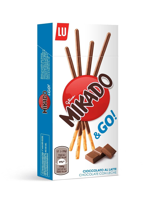 Amazon.com: LU Mikado Pocket - Chocolat au Lait - Milk ...